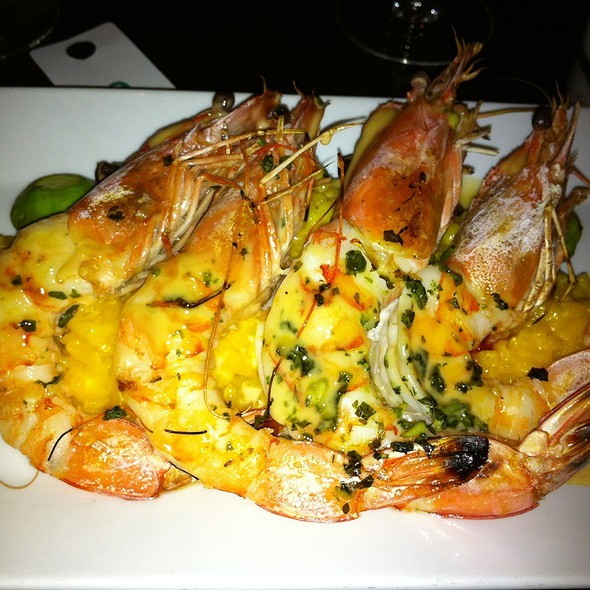 Mayan Prawns @ Thalia Restaurant