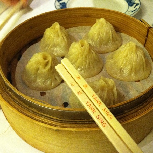 Shanghai Dumplings (Dim Sum) @ Yank Sing Restaurant