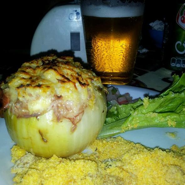 Cebola Recheada Com Charque @ Fiteiro Bar e Restaurante