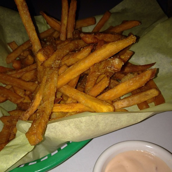 Sweet potato fries @ Hula's Modern Tiki