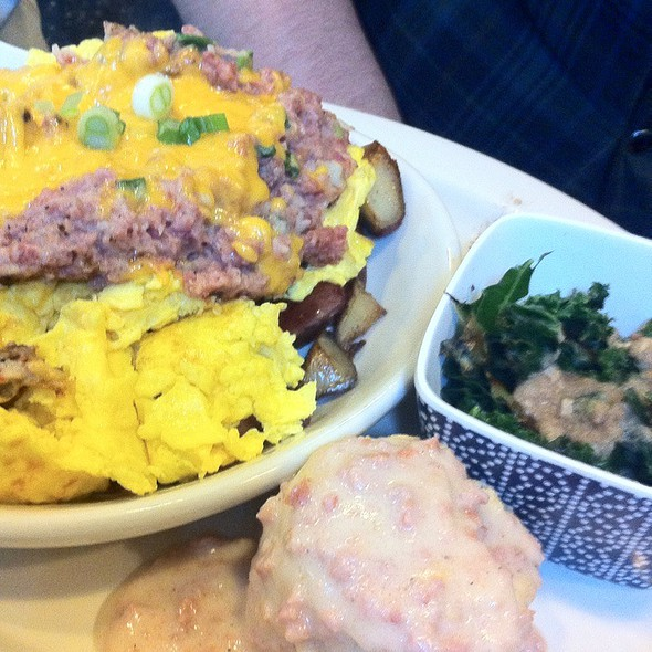 Corned Beef Hash @ Flying Saucer Inc