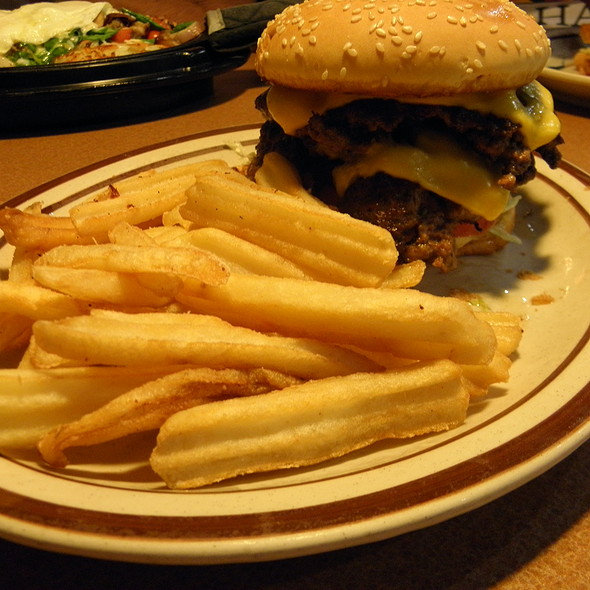 Double Cheeseburger @ Denny's