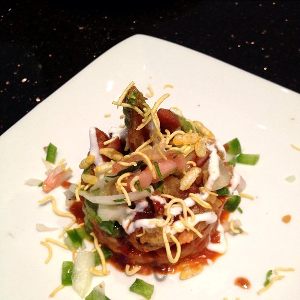 Samosa Chaat @ Indique Heights
