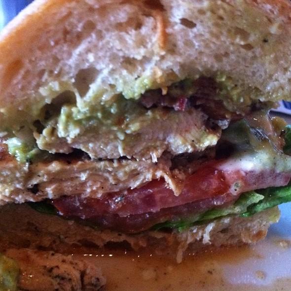California Chicken Sandwich @ Slater's 50/50 Burger