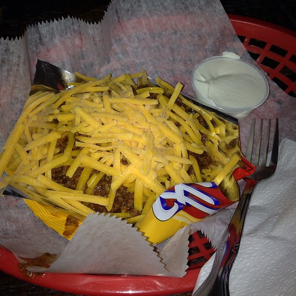 frito pie @ Mables Smokehouse Banquet Hall