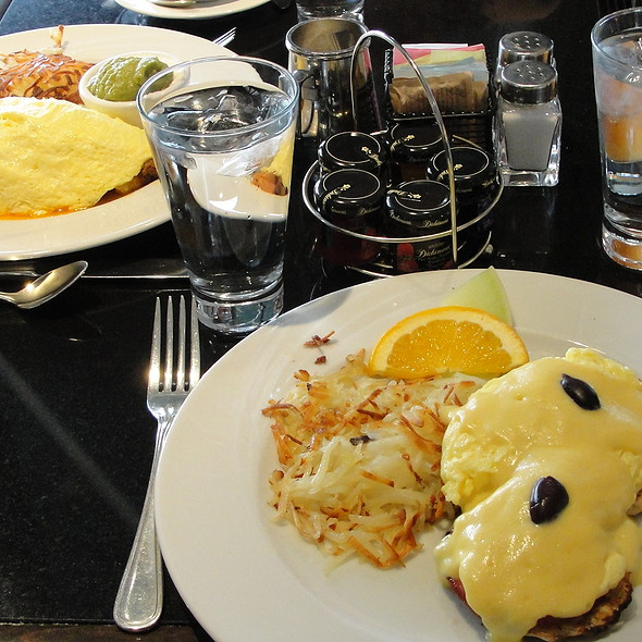 Eggs Benedict - Basil's, Minneapolis, MN