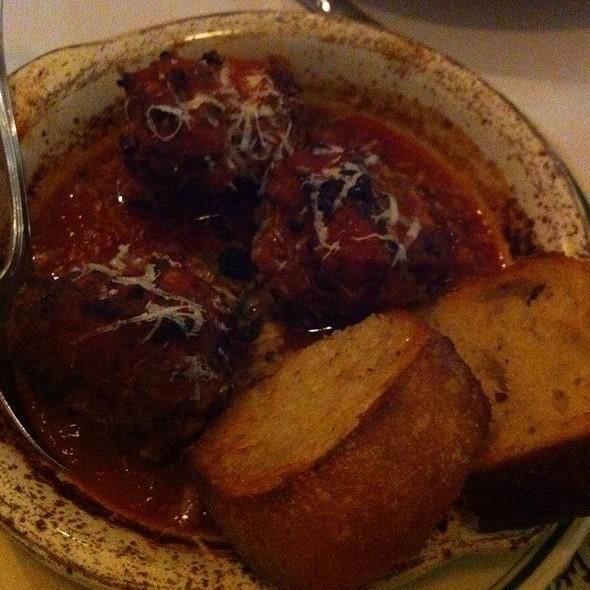 Meatballs @ Pizzeria Delfina