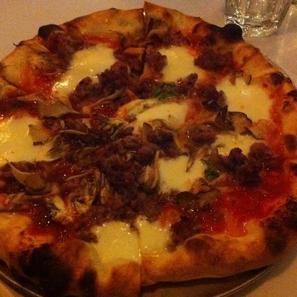 Sausage Pizza @ Pizzeria Delfina