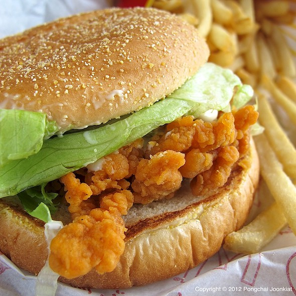 McSpicy Chicken Burger