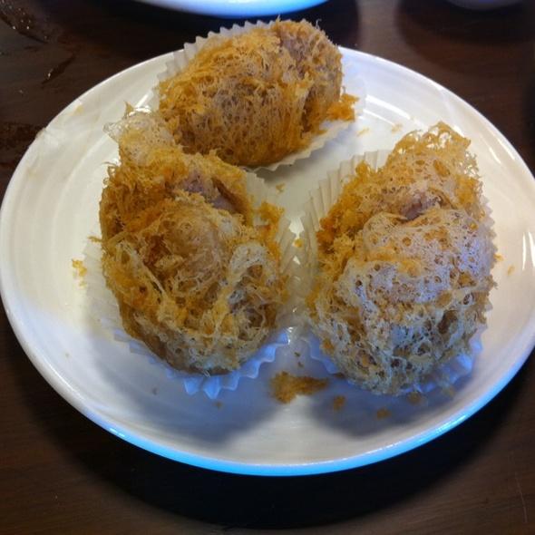 Crispy Taro Shrimp (dim sum) @ Koi Garden