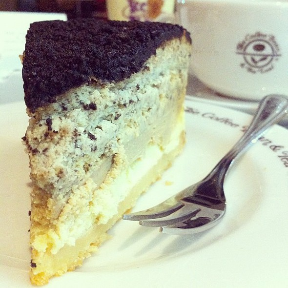 Triple Decker Cheesecake @ The Coffee Bean