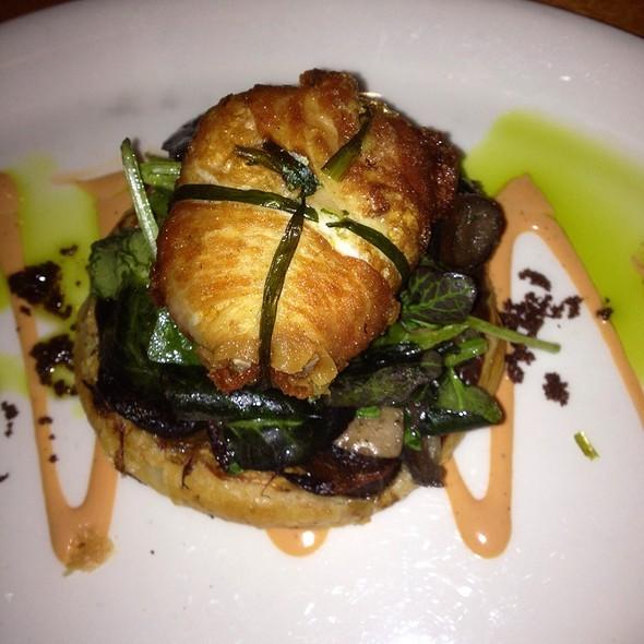 Mushroom & Onion Tart @ david burke kitchen