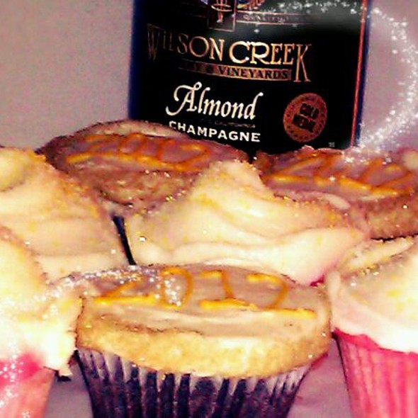 Pink Champagne Cupcakes @ SusieCakes Bakery Newport Beach