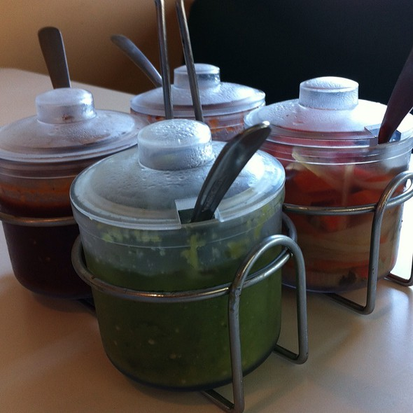 Salsas @ Alicia's Mexican Food & Fruteria