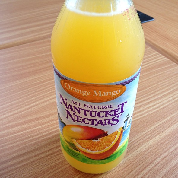 Nantucket Nectar's Orange And Mango  @ Stuffed Inn