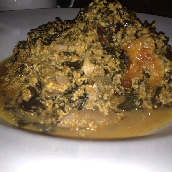 Egusi And Fufu @ 805 Restaurant