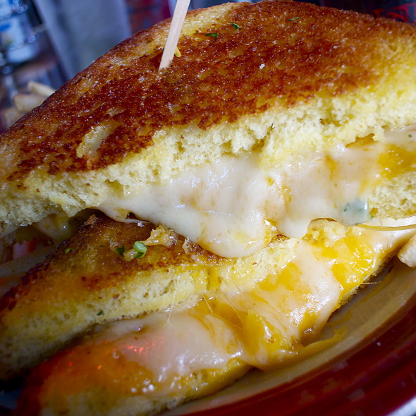 Grilled Cheese Sandwich @ Capitol Garage