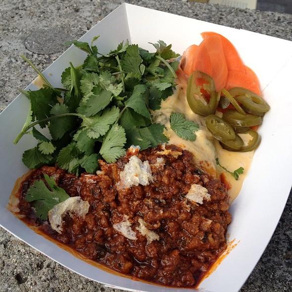 Crispy Crunchy Roasted Pepper Tamale @ 4505 Meats (Ferry Building Thursday & Saturday Market)