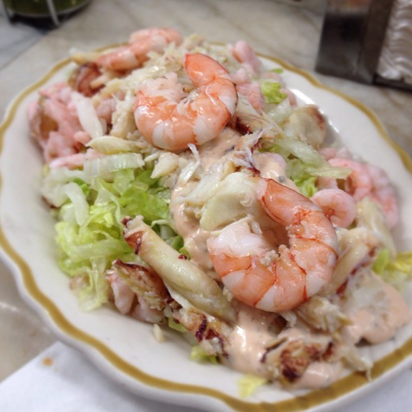 Combination Seafood Salad @ Swan Oyster Depot