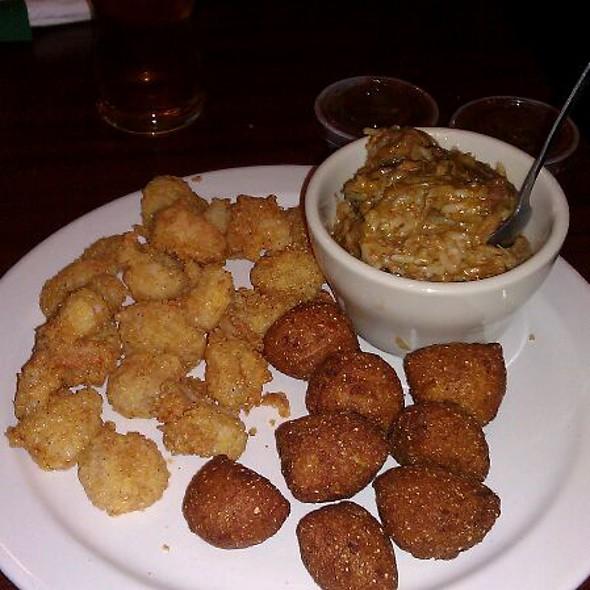 Fried Shrimp Patter @ Jubilee Joes