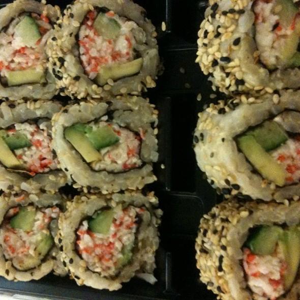 Brown Rice California Rolls/Sushi @ Mount Sinai Hospital