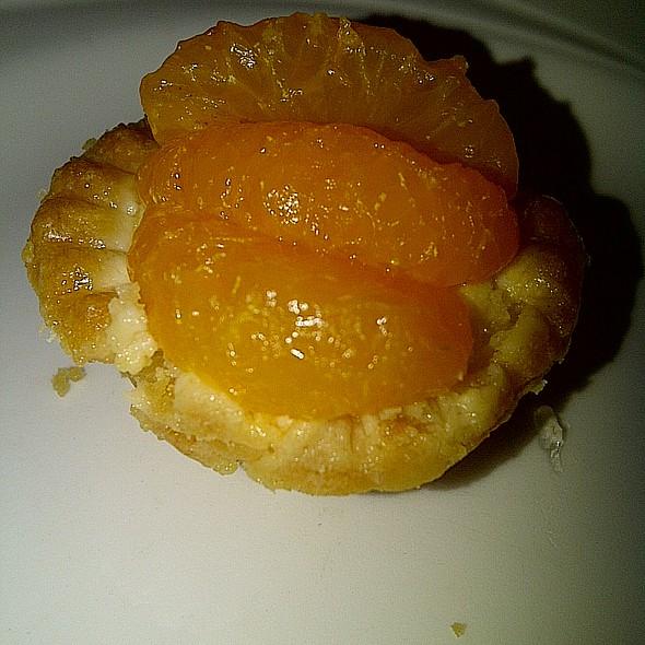 Mandarin Orange Custard Tart @ Flavors (Silver Legacy)