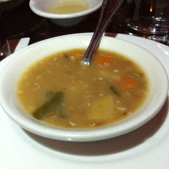 Lemon Lentil Soup @ Lubnam