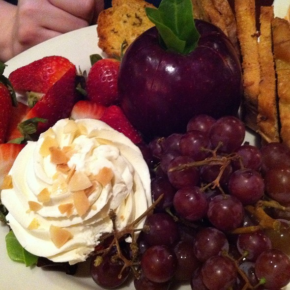 Seasonal Fruit & Cheese Plate - Hereford House - Independence, Independence, MO