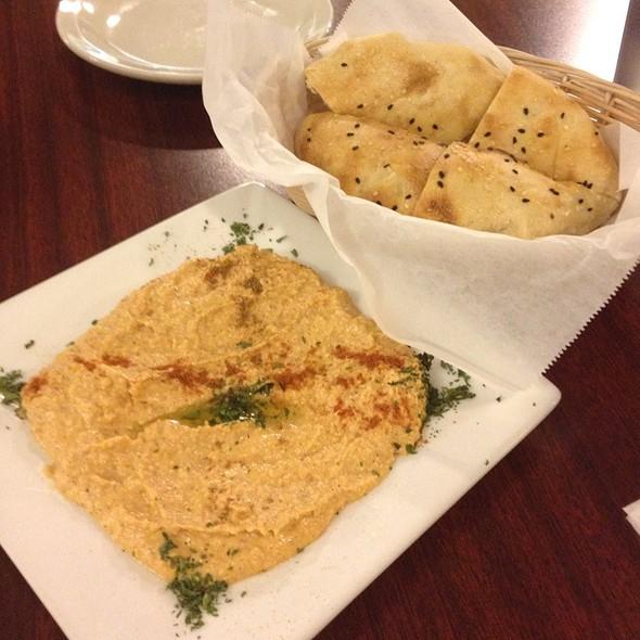 Homemade Hummus And Lavash Bread @ A La Turca