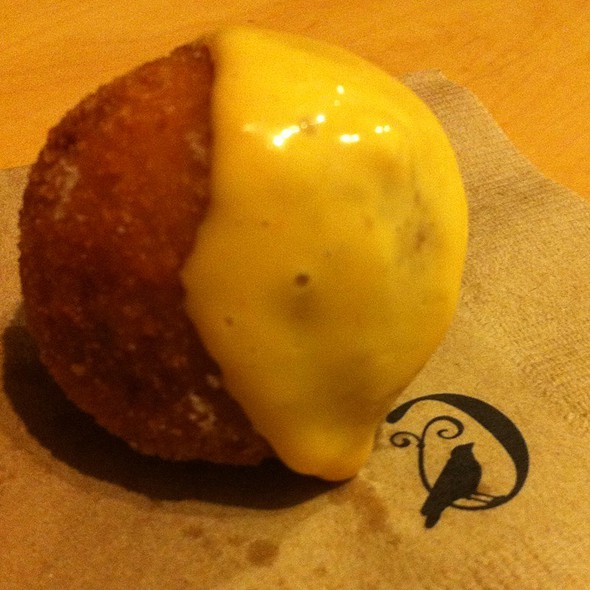 Dungeness Crab Arancini With Calabrese Aioli @ Foodspotting HQ