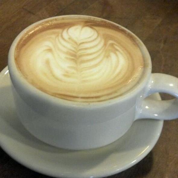 Lemon Vanilla Latte @ The Commonplace Coffeehouse