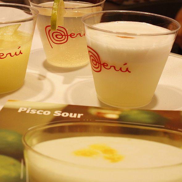 Pisco Sour and Peruvian Cocktails @ Madrid Fusión