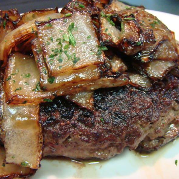 Chopped Steak - Chophouse 47 – Steaks & Lobster, Greenville, SC