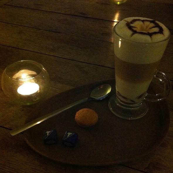 Chocolate Latte Macchiato @ Histoires D'O