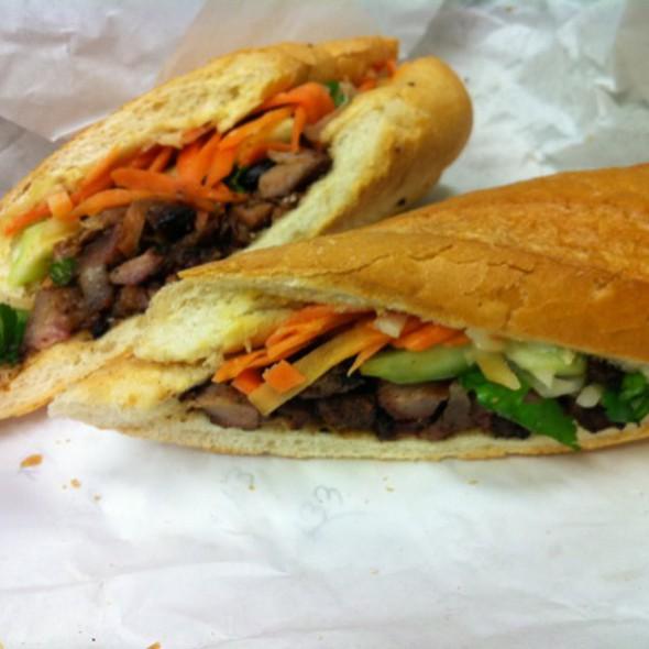 Grilled Pork Bahn Mi @ LuLu B's