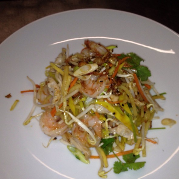 Thai Chicken & Prawn Salad @ Grange Road Cafe