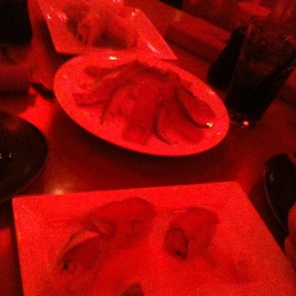 sushi plate @ RA Sushi