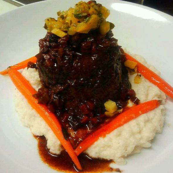 Braised Beef Short Rib @ Louie's Backyard