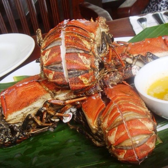 Lobster with Lemon Butter @ Terrazas De Punta Fuego
