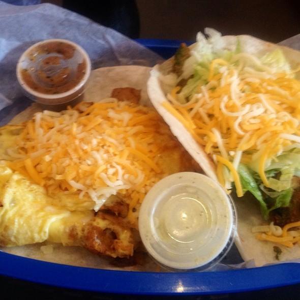 Breakfast Burrito @ Torchy's Tacos