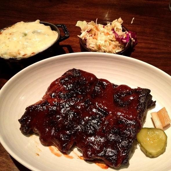 pork ribs - Q Kitchen Bar - Hyatt Regency, San Antonio, TX