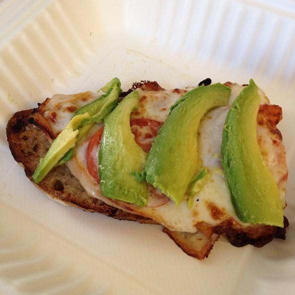 Open Faced Smoked Turkey Sandwich @ la boulange