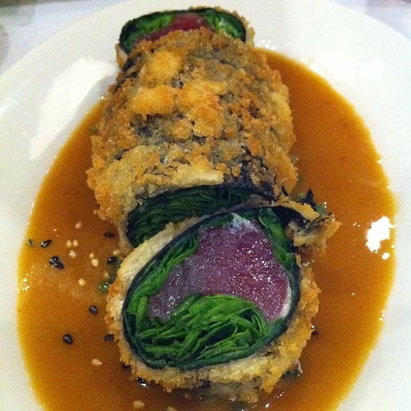 Panko Crusted Ahi Sashimi Sushi Roll @ Sansei Seafood Restaurant