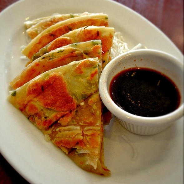Scallion Pancake @ SangKee Noodle House