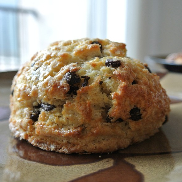 Chocolate Chip Scone @ Whole Foods Market - Callowhill