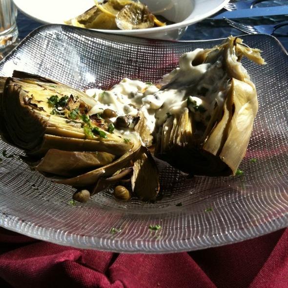 Artichoke - Anton & Michel Restaurant, Carmel, CA