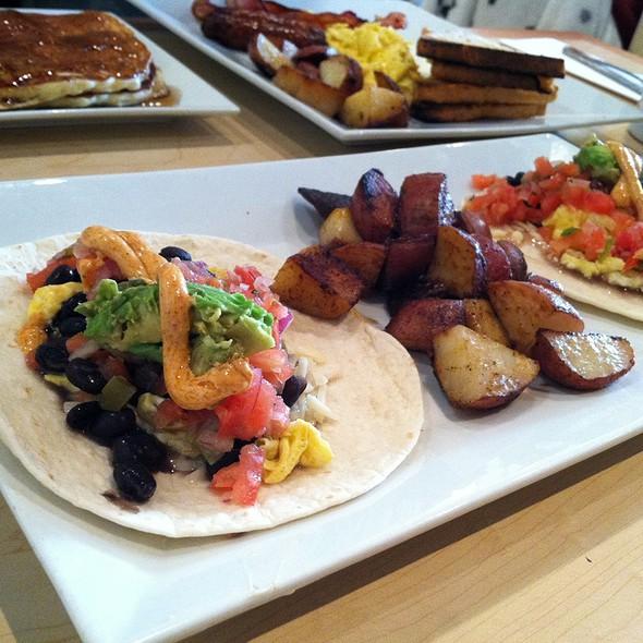 Breakfast Tacos @ Helen's Restaurant