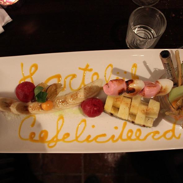 Mixed Fruit Salad @ Restaurant 't Oude Raedthuys