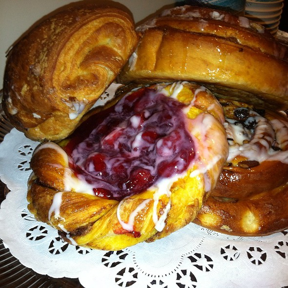 Breakfast Pastries @ Pandolfi's Deli