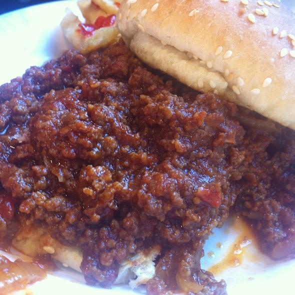 Sloppy Joe ( Extra Sloppy Billy Madison Style )  @ The Skinny Chef Inc